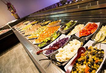 Restaurant buffets à volonté